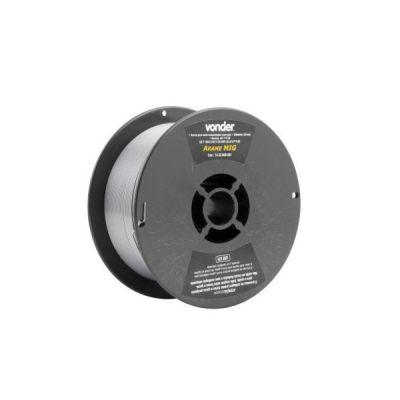 Arame para solda MIG de 0,8mm sem Gás Rolo com 1 kg Vonder 7432008001