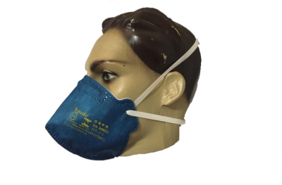 Máscara PFF2 N95 Sem Válvula Azul Air Safety 3