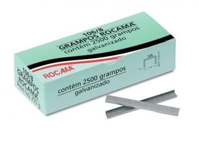Grampo para Grampeador Rocama 106/8mm (cx2500)