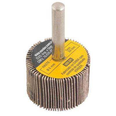 Roda De Lixa  30 X 20mm com Haste G.36- Vonder