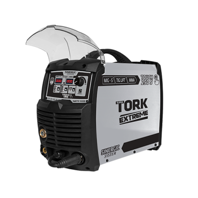 Inversora Extreme TOUCH 250A (MIG-MAG/MMA/TIG) Tork