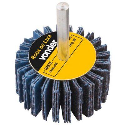 Roda De Lixa  30 X 20mm com Haste G.60- Vonder