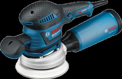 Lixadeira Excêntrica Gex 125-150 Ave Bosch 400W