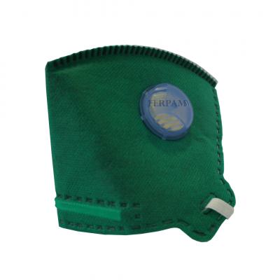 Máscara Maskface verde PFF 2 com Válvula- Safety