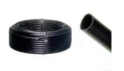 """50 metros de Mangueira Polietileno 1""""x2mm Tubo Santana"""