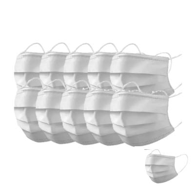 KIT com 10 Unidades de Máscara Cirúrgica WK Tripla Camada Branca Genova