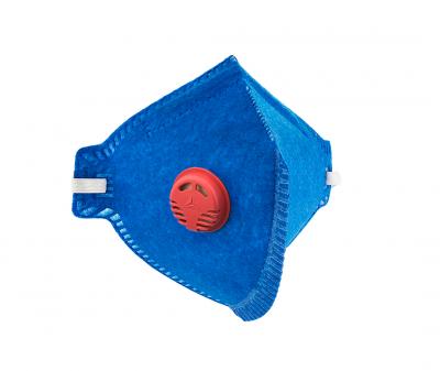 Máscara Pff1 Azul Com Válvula Pro Agro Delta Plus