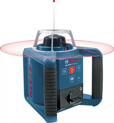 Laser de rotativo Bosch GRL 300 HV Professional com Kit