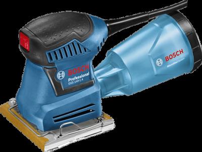 Lixadeira Orbital com Filtro 180W Gss140-1A Bosch - 220V