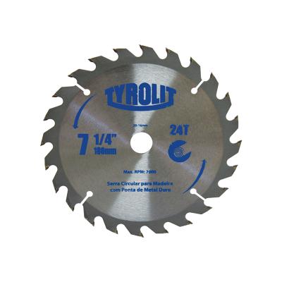 Disco Serra Circular Vidia 7.1/4x24 Dentes Tyrolit