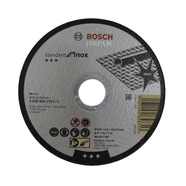 Disco de Corte Inox 125mm- Bosch 2608603172