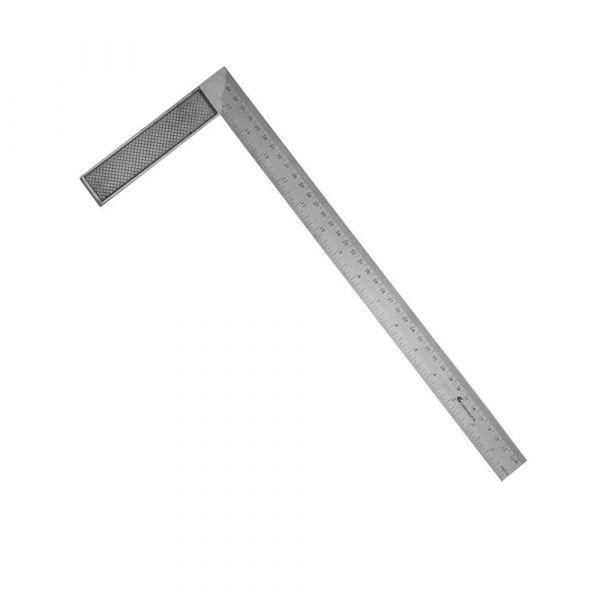 Esquadro de Aço Inox 10''''- Carbografite