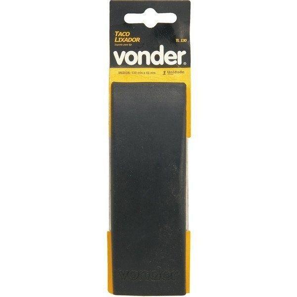 Taco de Lixar 130x45mm- Vonder