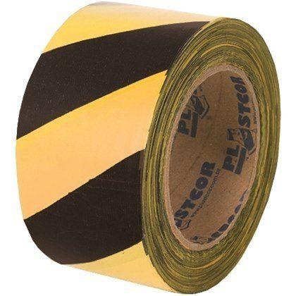 Fita Zebrada Preta/amarela 200mts