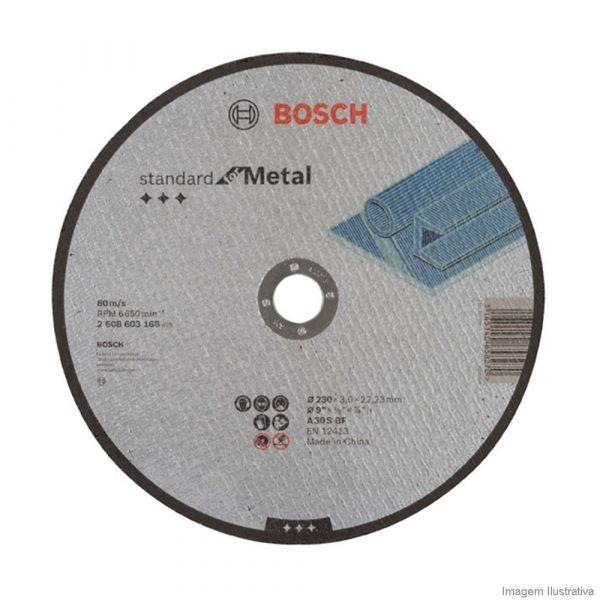 Disco Corte 9x1/8x7/8 Metal Bosch