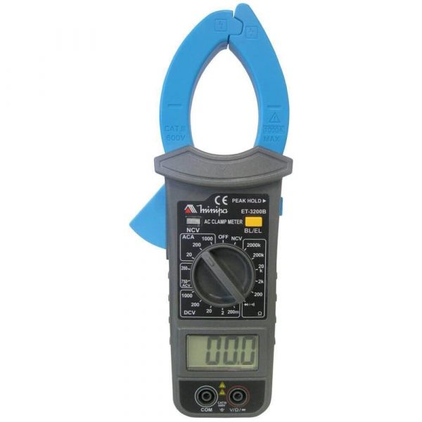 Alicate Amperímetro Digital minipa Et 3200b