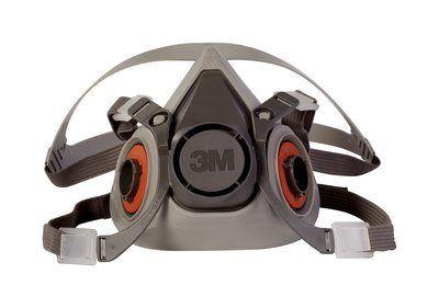 Máscara Semifacial Série 6200 para uso com Pressão Positiva- 3M