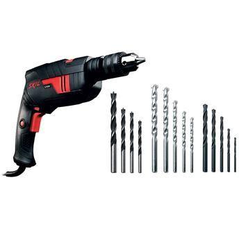 Furadeira 6555 Skil 570w 1/2  kit 14 Brocas - 220v