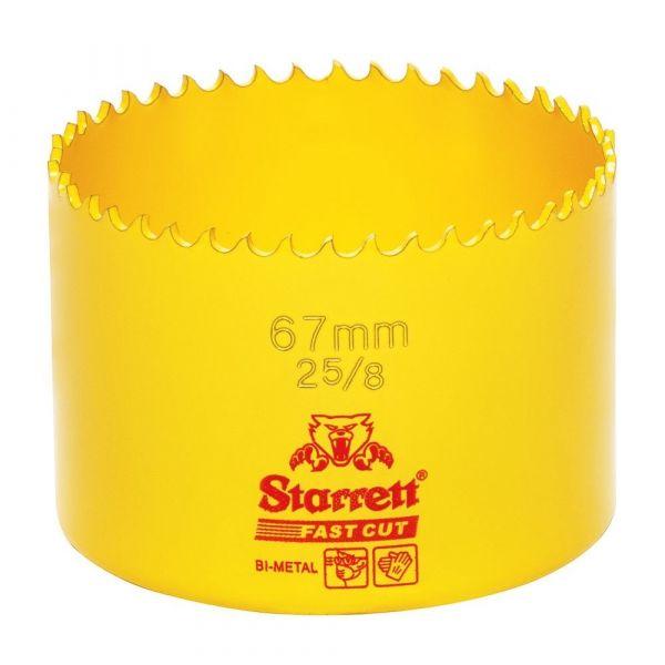 Serra Copo Fast Cut 67mm (2.5/8)- Starrett