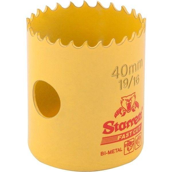 Serra Copo Fast Cut 40mm (1.9/16)- Starrett