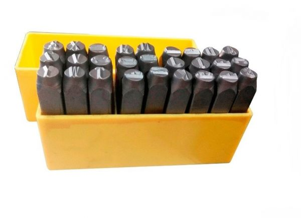 Jogo Alfabeto de Aço 5mm- Rocast