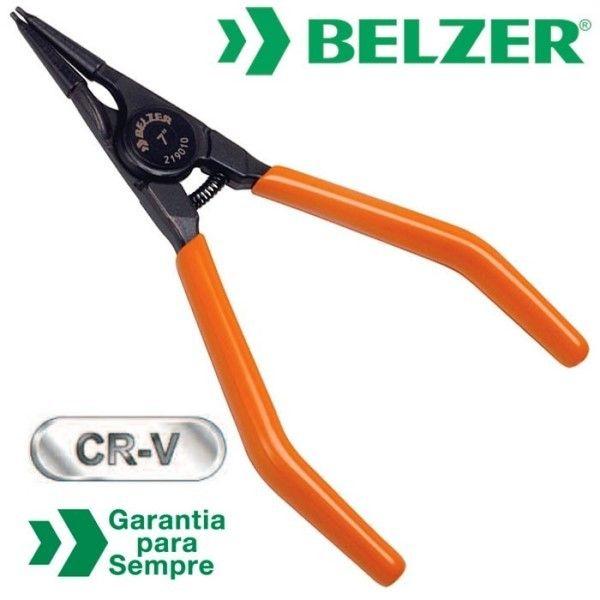 Alicate para Anéis Externo Bico Reto 7''''- Belzer