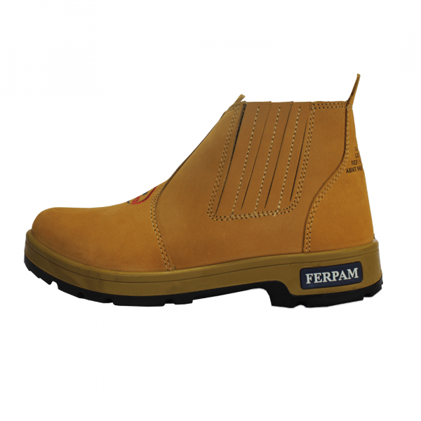 Botina Amarela Ferpam/Borrachas Taí-Pé Nº 45
