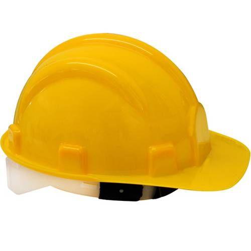 Capacete De Segurança Amarelo Pro Safety