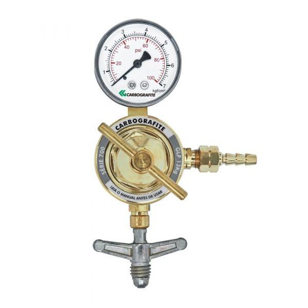 Regulador de Pressão GLP 13kg Cilindro- Carbografite