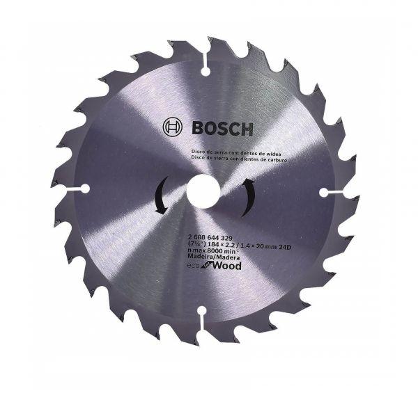 Disco para Serra Circular Vidia Bosch 7ECO WOOD 1/4x 24D