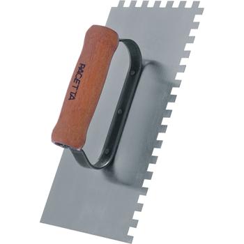 Desempenadeira de Aço Dentada 12 X 30cm- Pacetta
