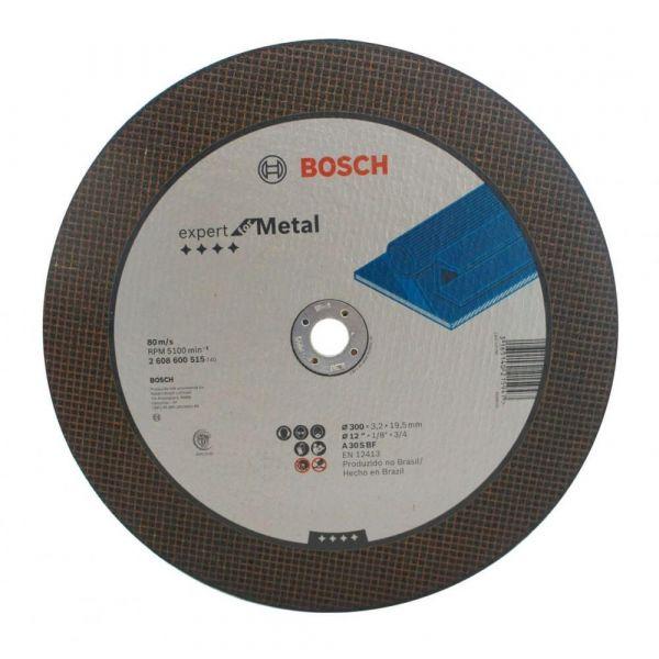Disco Corte  para policorte 12x1/8x3/4 Bosch 0515 -  300mm