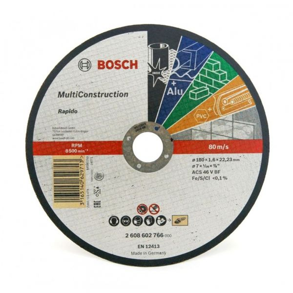 Disco Corte 7 X1/16x7/8 Bosch 766 Rapido