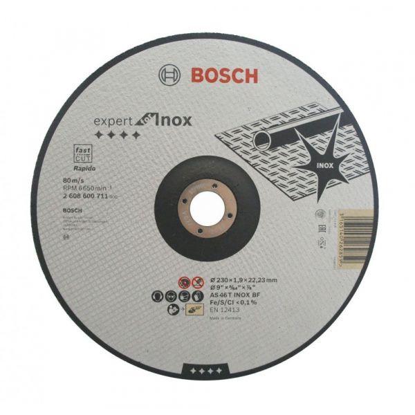 Disco Corte 9x5/64x7/8 Inox Bosch
