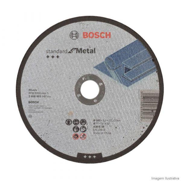 Disco Corte 7x1/8x7/8 Metal Bosch