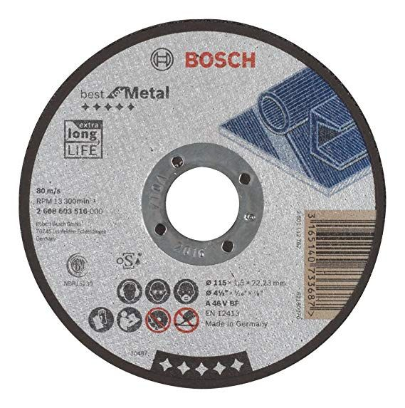Disco Corte 12x1/8x1 Metal