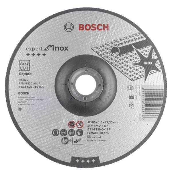 Disco Corte 7x1/16x7/8 Inox Bosch