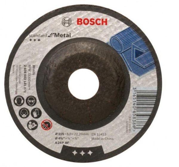 Disco Desbaste 4.1/2''x3/16''x7/8''