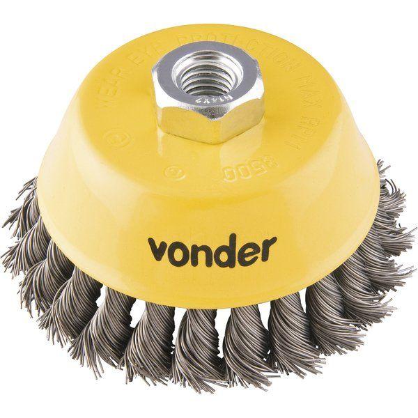 Escova tipo copo torcida 3'' Vonder 6325030140