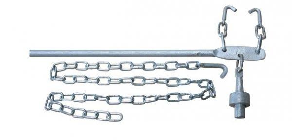 Espichadeira de Arame Liso Galvanizado- RG Metalurgica