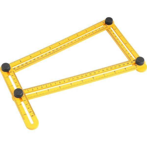 Esquadro Plástico Ajustável Vonder 3550555000