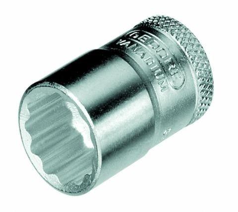 Soquete Estriado 6mm com Encaixe 3/8