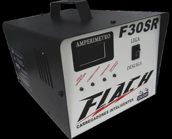 Carregador Inteligente de Bateria F30 SR- Flach