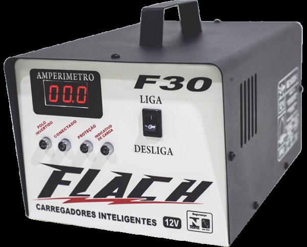 Carregador Inteligente de Bateria F30- Flach
