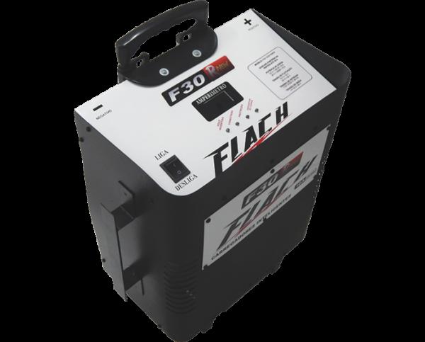 Carregador Inteligente de Bateria 10A  F30-12/24 Aux. Part  RNEW- Flach
