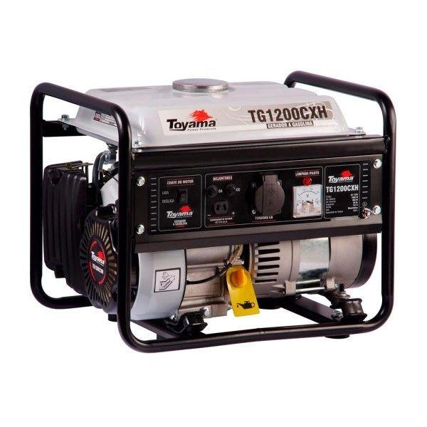 Gerador 1.2 kva 4T Gasolina- Toyama TG1200CXH 220V