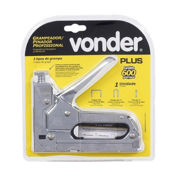 Grampeador Pinador Profissional Vonder 2898200000