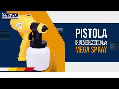 Pistola de Pintura Pulverizadora Mega Spray 350W 220V Ferrari