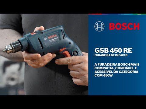 Furadeira de Impacto GSB 450 RE 450W 220V Bosch