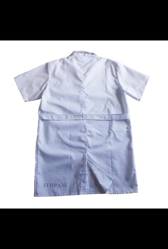 Avental/Jaleco Profissional Branco GG